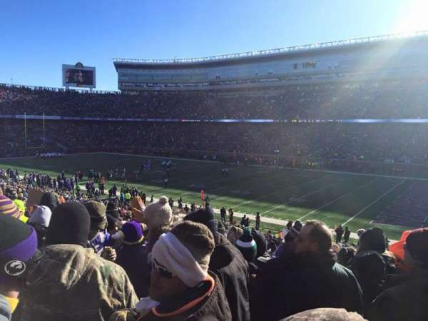 TCF Bank Stadium, section: 105, row: 31, seat: 17 , 18