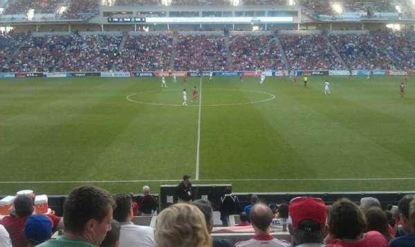 SeatGeek Stadium, section: 128, row: 14, seat: 128