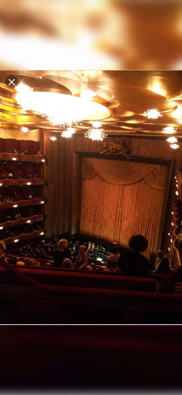 Metropolitan Opera House - Lincoln Center, section: Balcony, row: L, seat: 5