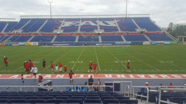 FAU Stadium, section: 105, row: L, seat: 3