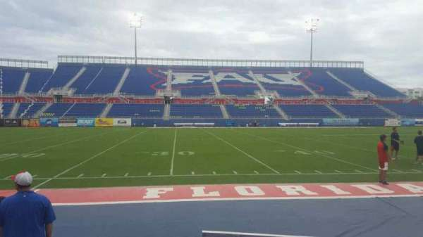 FAU Stadium, section: 107, row: A, seat: 6