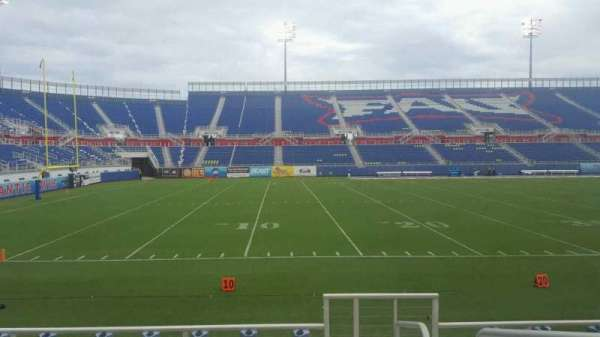 FAU Stadium, section: 109, row: F, seat: 1