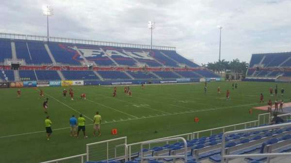 FAU Stadium, section: 111, row: J, seat: 5