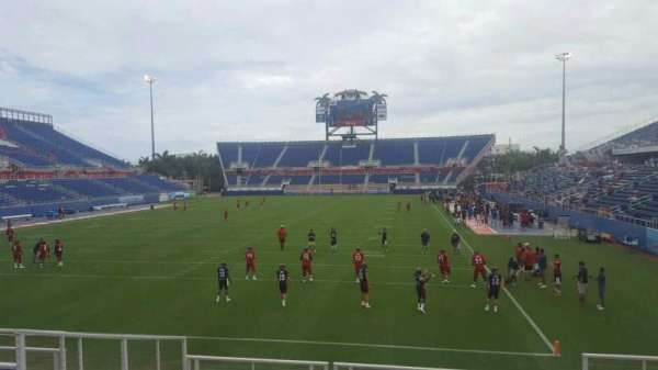 FAU Stadium, section: 116, row: M, seat: 5
