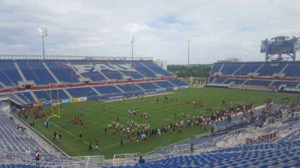 FAU Stadium, section: 212, row: Z, seat: 25