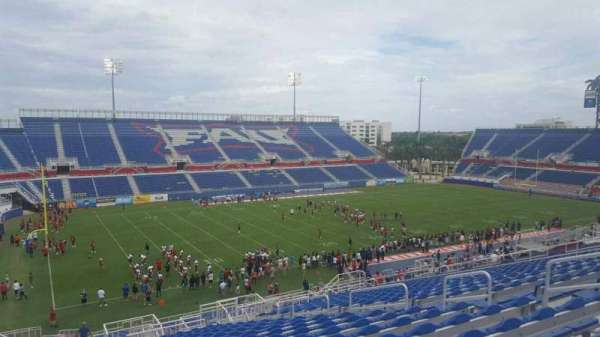 FAU Stadium, section: 211, row: Z, seat: 12