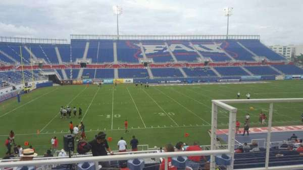FAU Stadium, section: 209, row: C, seat: 3