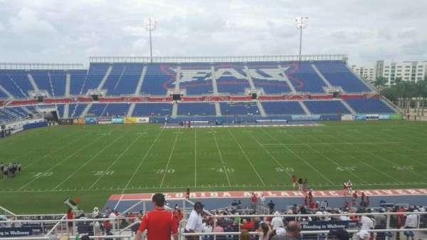 FAU Stadium, section: 106, row: R, seat: 15