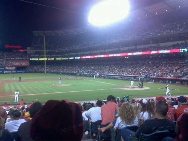 Angel Stadium, section: F111, row: x, seat: 18