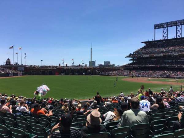 AT&T Park, section: 132, row: 26, seat: 12
