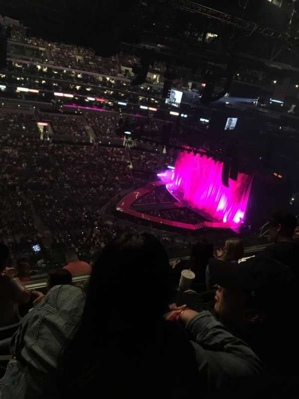 Staples Center, section: 302, row: 9, seat: 20