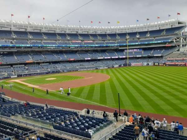 Yankee Stadium, section: 210, row: 1, seat: 1
