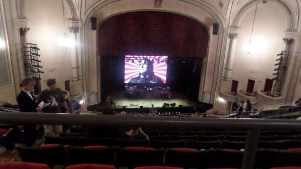 Palace Theatre (Columbus), section: BALC C, row: M 112, seat: B