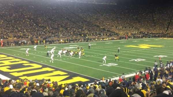 Michigan Stadium, section: 9
