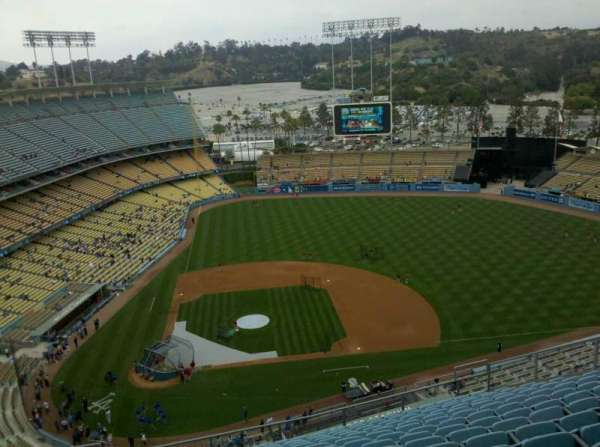 Dodger Stadium, section: 12TD, row: R, seat: 6