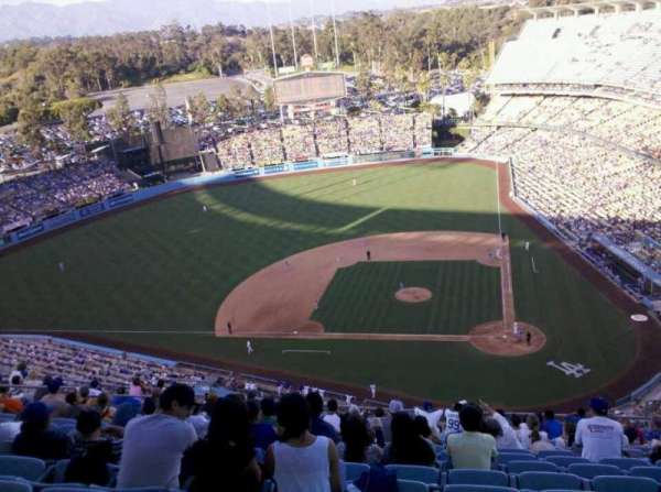 Dodger Stadium, section: 11TD, row: K, seat: 8