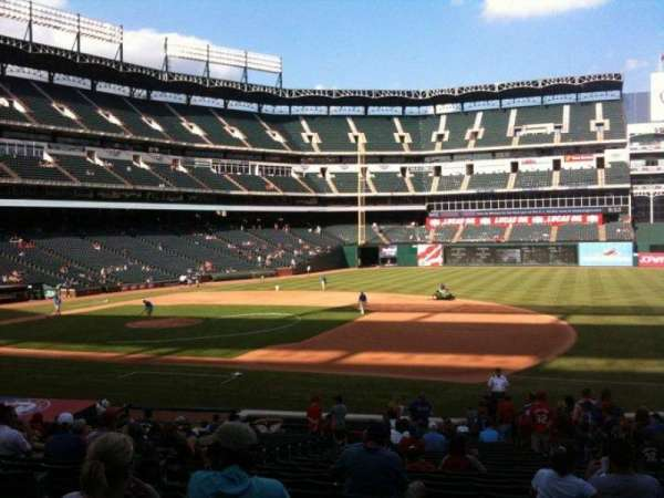 Globe Life Park in Arlington, section: 35, row: 24
