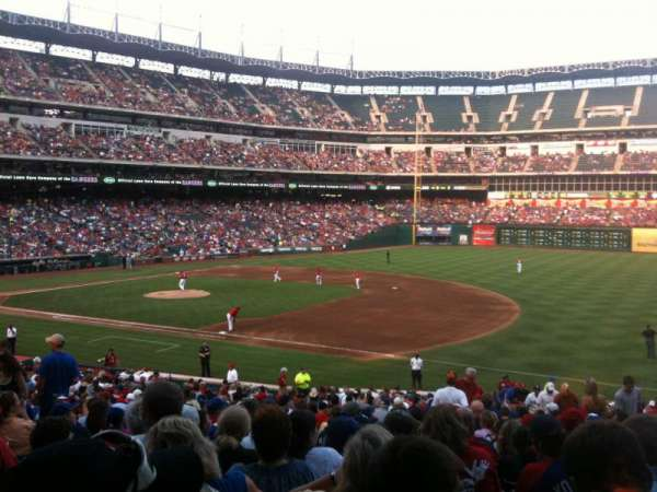 Globe Life Park in Arlington, section: 36, row: 31