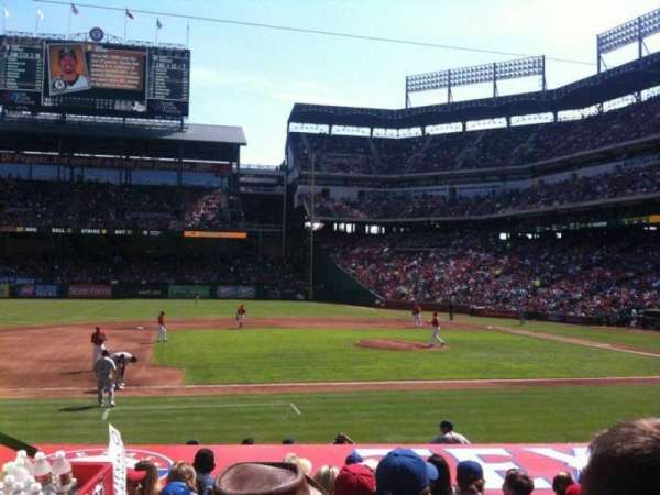 Globe Life Park in Arlington, section: 19, row: 13, seat: 4