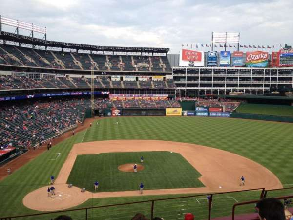 Globe Life Park in Arlington, section: 231, row: 6, seat: 9