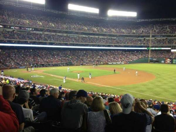 Globe Life Park in Arlington, section: 37, row: 31