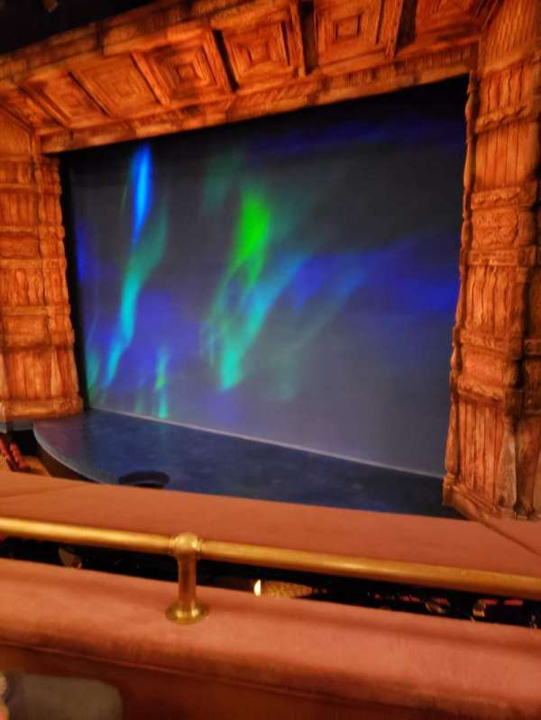 St. James Theatre, section: Mezz Right, row: B, seat: 14