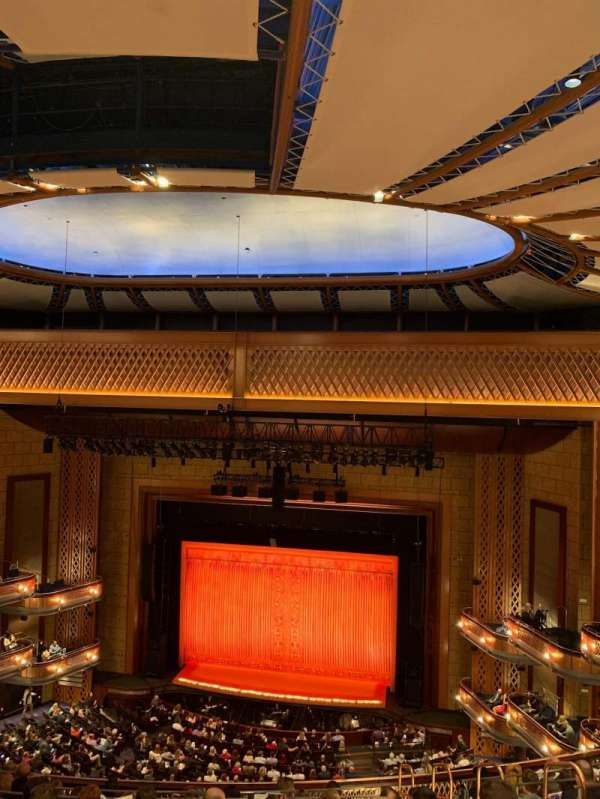Walt Disney Theatre - Dr. Phillips Center, section: Upper Balcony, row: G, seat: 137