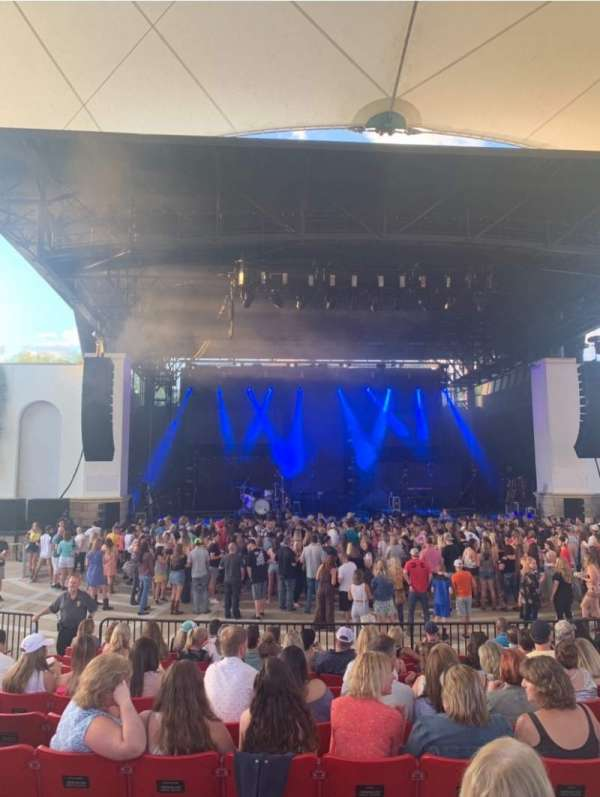 St. Augustine Amphitheatre, section: 102, row: L, seat: 130
