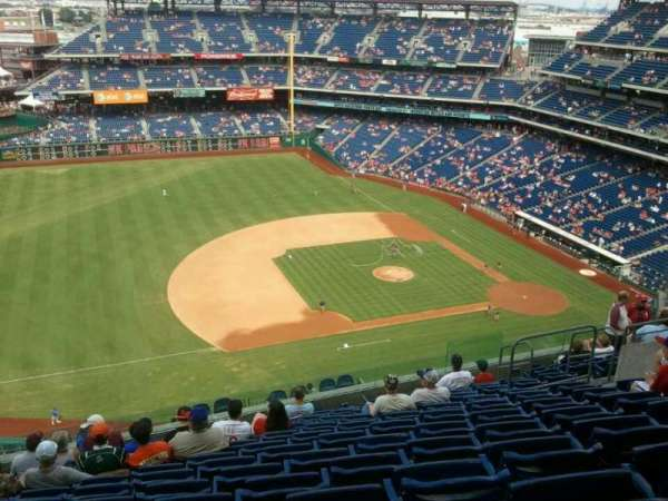 Citizens Bank Park, section: 428, row:  12, seat:  13