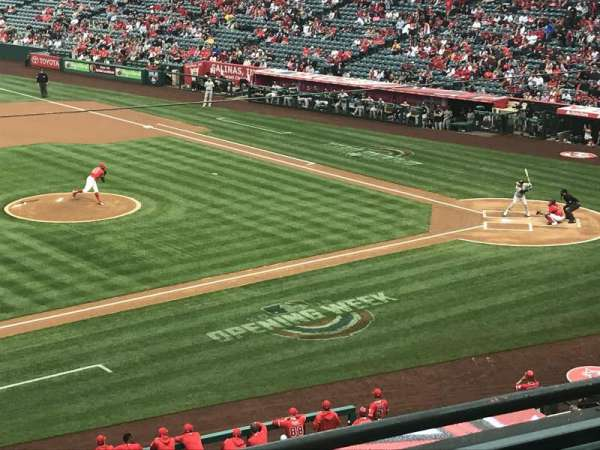 Angel Stadium, section: C316, row: C, seat: 1