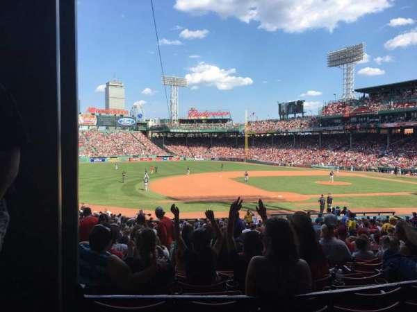 Fenway Park, section: Grandstand 27, row: 3, seat: 25