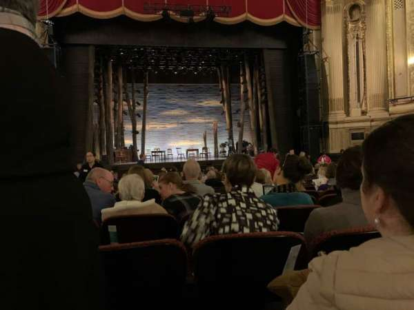 Citizens Bank Opera House, section: Orchestra C, row: N, seat: 113