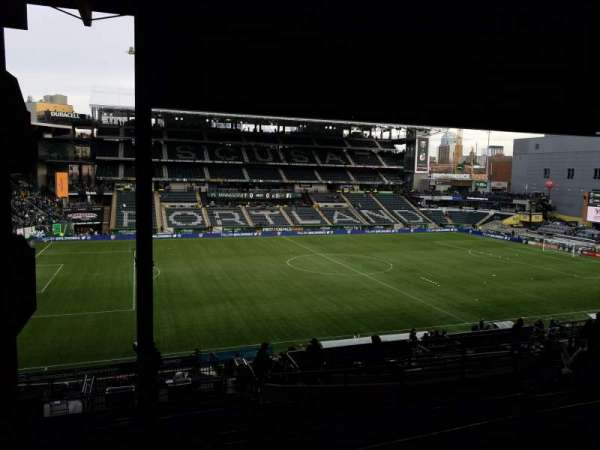 Providence Park, section: 215, row: S, seat: 5