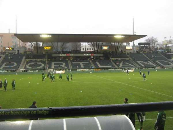 Providence Park, section: 117, row: B, seat: 7