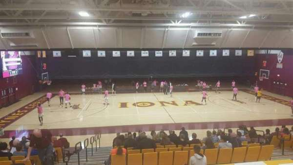 Hynes Athletic Center, section: 13, row: V, seat: 12
