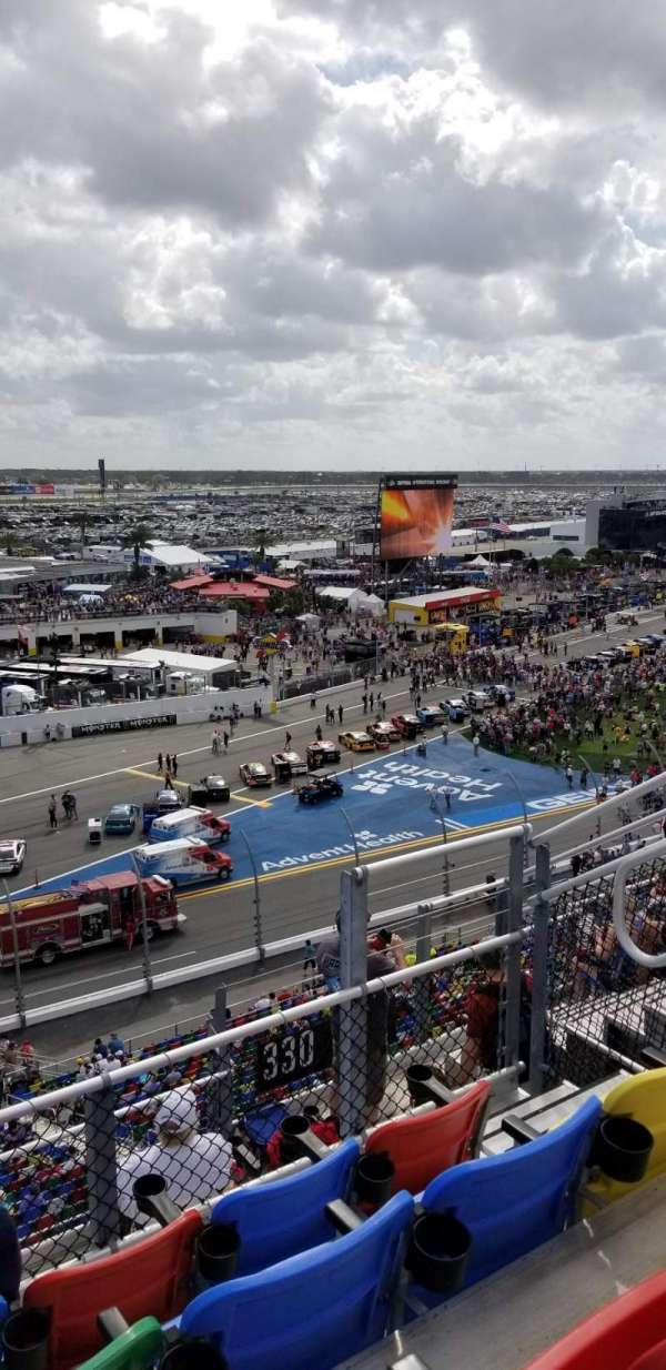 Daytona International Speedway, section: 330, row: 7, seat: 9