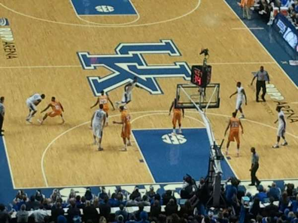 Rupp Arena, section: 241