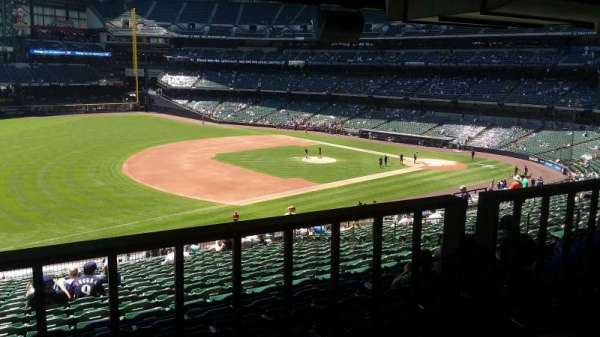 Miller Park, section: 228, row: 9, seat: 12
