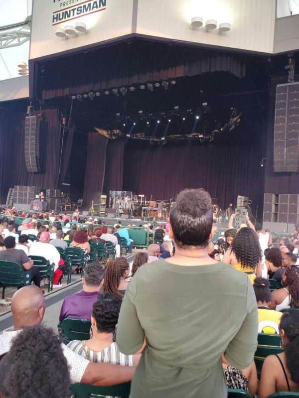 Cynthia Woods Mitchell Pavilion, section: 103, row: R, seat: 4