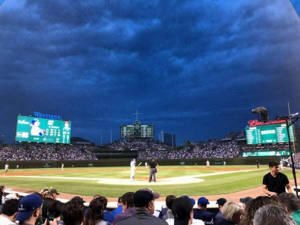 Wrigley Field, section: AA18, row: 7, seat: 11
