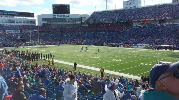 Highmark Stadium, section: 108, row: 17, seat: 14