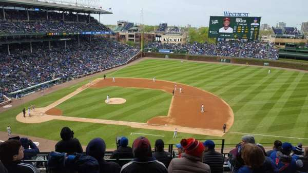 Wrigley Field, section: 324R, row: 8, seat: 23