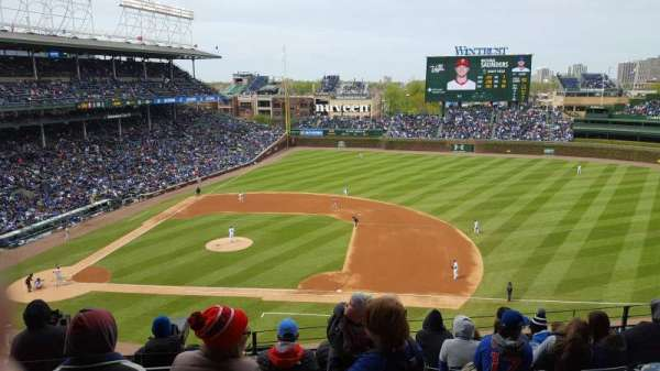 Wrigley Field, section: 324R, row: 8, seat: 25