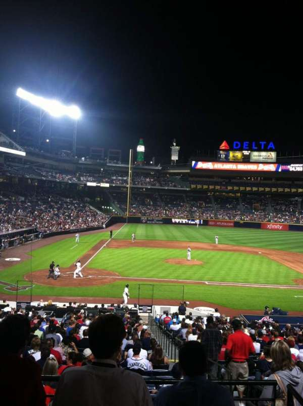 Turner Field, section: 207, row: 1, seat: 1