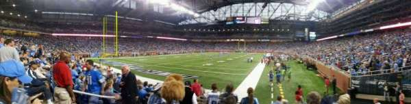 Ford Field, section: 140, row: 7, seat: 5