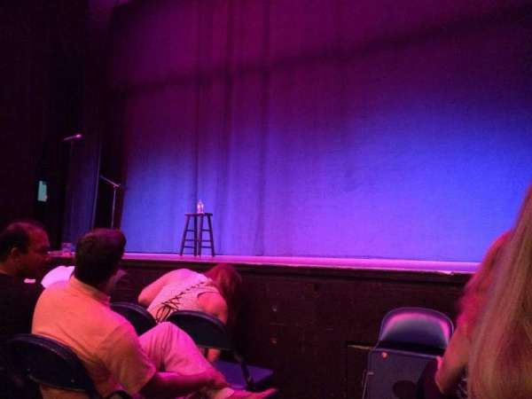 Brady Theater, section: D, row: A, seat: 2