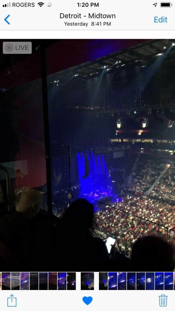 Little Caesars Arena, section: 225, row: 2, seat: 14, 15