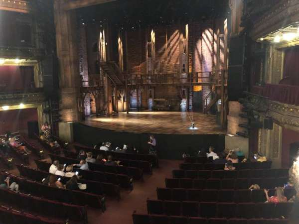 CIBC Theatre, section: Dress Circle R, row: A, seat: 4