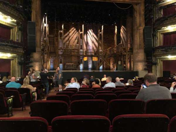CIBC Theatre, section: Orchestra C, row: S, seat: 102