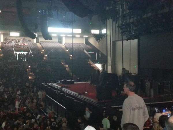Royal Farms Arena, section: 106, row: M, seat: 14
